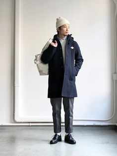DANTON、WOOL MOSSER SINGLE JACKET