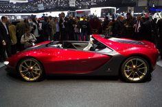Ferrari Sergio Exterior Side View Photo Wallpaper