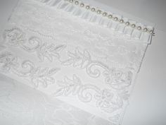 All Occasion Handmade Greeting Card, white heavy card stock, white lace,, white ruffle ribbon, vintage bridal lace with bling, a row of creamy pearls on a string, blank inside with matching envelope. Will be send in protective Cellophane sheet. Give for birthdays, special holidays, friendship, teacher's gifts, great for giving out at home shopping parties, …