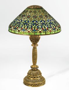 "Tiffany Studios ""Venetian"" Table Lamp 