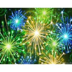 New Years Eve Fireworks wallpaper ❤ liked on Polyvore featuring backgrounds and pictures