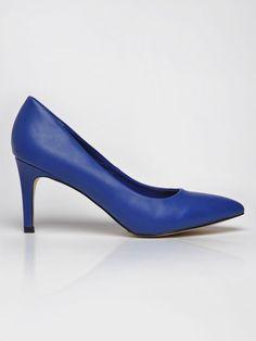 #Buty damskie #topsecret z kolekcji jesień zima 2014, #szpilki damskie niebieskie