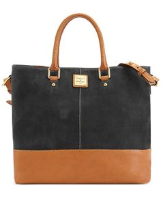 Dooney & Bourke Handbag, Nubuk Chelsea Shopper - Dooney & Bourke - Handbags & Accessories - Macy's