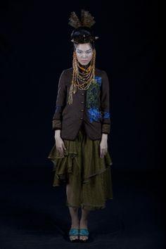 Minh Hanh. Vietnamese Fashion Designer FW11 Photo: Jack Dabaghian Model: Thuy Dung
