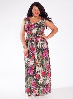 Mally Maxi Dress in Rose Garden