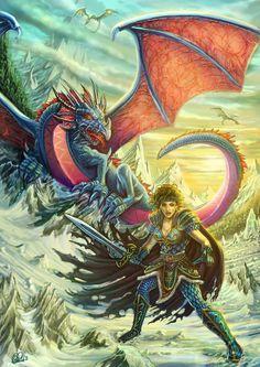 Kitiara and the Dragon Army by DarkAkelarre on DeviantArt
