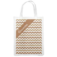 Golden Retriever Chevron Market Totes ................This design features a Golden Retriever Chevron pattern. Colors represent a golden retriever dog. The TEXT on both sides can be customized with your own. Check out my store for more colors.