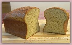 Ginny's Low Carb Kitchen: MY VERY BEST LOAF OF BREAD YET