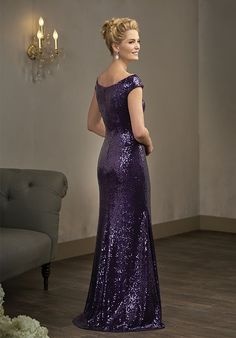 Jade Couture K198016 Purple Mother Of The Bride Dress