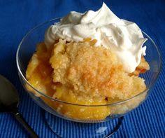 Super Easy Peach Cobbler | easy fast dinner recipe