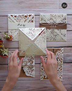 EWI Rustic wedding invitation collection