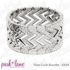 Silver Crush Bracelet    http://www.myparklane.com/chinton  Visiting from Promoting Direct Sales.  https://www.facebook.com/pages/Park-Lane-Jewelry-Cheryl-Hinton/155327374542857