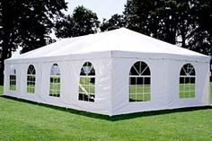 I like how there are windows in this tent. My sister is looking to find a way to decorate for her wedding reception. Maybe a tent like this would be nice for the reception. Hiking Tent, Camping And Hiking, Tent Camping, Camping Gear, Event Tent Rental, Tent Rental Prices, Tent Hire, First Time Camping, Lightweight Tent