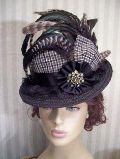 Victorian Ladies Hats | Mini Top Hats | Kentucky Derby Hats | Victorian Hat