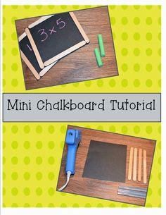 Classroom DIY Activi