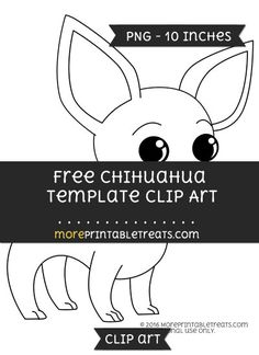 Free Chihuahua Template - Clipart