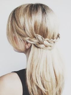 hair | back braid