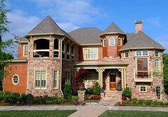 Architectural Designs - Home Plan XXIX American Stick Style