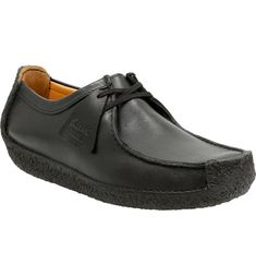 Free shipping and returns on Clarks® Originals 'Natalie' Moc Toe Derby (Men) at Nordstrom.com. A genuine crepe outsole defines and adds comfort to a chukka-inspired, square-toe derby shaped from supple nubuck leather and trimmed with classic moccasin stitching. Clarks Originals, The Originals, Men's Clarks, Moccasins, Leather Shoes, Designer Shoes, Derby, Stitching, Oxford Shoes