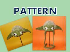 Yoda crochet pattern on etsy