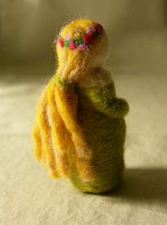 Doing Without - More Needle Felted Toys