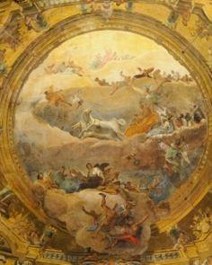 Ca' Sagredo Hotel - Frescoes from the 18th Century.