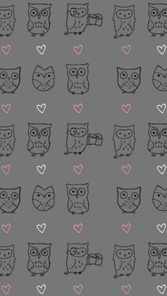 Owl Pattern Wallpapers iphone 6 Plus