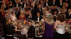 They went there: Jessica commented on her reaction to the Bill Cosby jokes by Amy Poehler and Tina Fey at the Golden Globes on Sunday