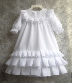 New Children Dress Patern Little Girls Ideas Girls Frock Design, Kids Frocks Design, Baby Frocks Designs, Baby Dress Design, Frocks For Girls, Dresses Kids Girl, Kids Outfits, Children Dress, Dress Girl