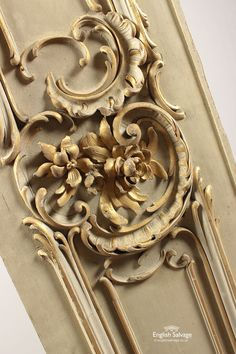 Antique Carved Gilded Panel