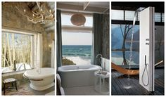 Get ready for the most fantastic bathrooms that will take your breath away. Bathroom with a view is something that you can't find so often. But the hotels