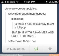 How to eat lollipops