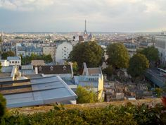 Bastille Day View from Terrass Hotel in Monmartre. Photo by Hope Tarr for EuropeUpClose.com.