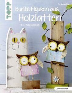 Bunte Figuren aus Holzlatten   TOPP Bastelbücher online kaufen
