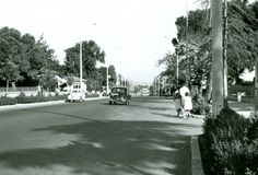 Bağdat Street Istanbul, 1962. Between Caddebostan - Suadiye