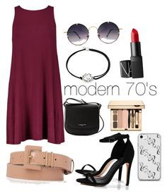 """""""modern 70's"""" by cjflynn on Polyvore featuring Lancaster, L.K.Bennett, Boohoo, Spitfire, Alex and Ani, NARS Cosmetics and modern"""