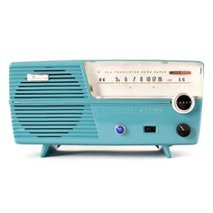 Turquoise Channel Master Speaker