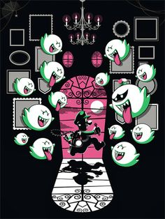 Cool Art: 'Luigi Mansion' by Guillaume Morellec (Regular)