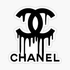 """""""pink channel """" Sticker by jlyssa22   Redbubble Brand Stickers, Laptop Stickers, Cute Stickers, Chanel Online, Sticker Design, Channel, Pink, Art, Art Background"""