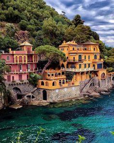 He who will seek beauty, will find it  Portofino by @sennarelax