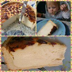 Baked cheesecake with dried cranberries  Recipe (plum version):  http://www.kifoztuk.hu/~kifoztuk/index.php/receptjeink/item/szilvas-suelt-turotorta?category_id=4