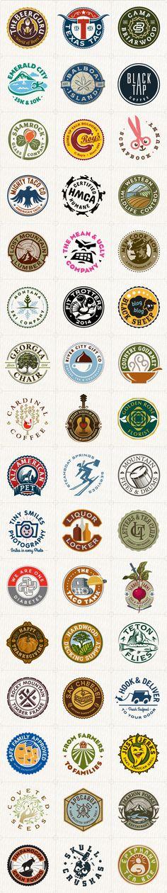 Circular Logos Collection on Behance