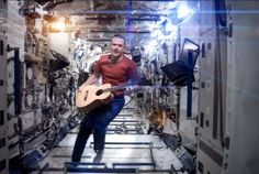 Yeah Chris ... they are going to miss you up there!!!    Chris Hadfield closes celestial road trip with David Bowies Space Oddity