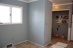 Considering this paint color (Flint Smoke by Behr) for the laundry room