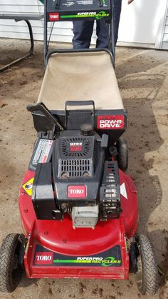 #TORO #LAWNMOWER WITH BAGGER Merchandise listings - #WillowRiver, MN at #Geebo