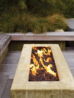 Convertible firepit | Fire up your backyard for outdoor living with these stylish ideas for firepits