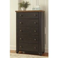 Maxington - Two-tone - Five Drawer Chest