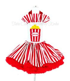 popcorn outfit tutu cute creations by kesha