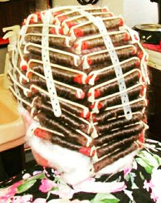 Perm Rods, Roller Set, Curlers, Birthday Candles, Hair Beauty, Perms, Food, Men, Rollers In Hair
