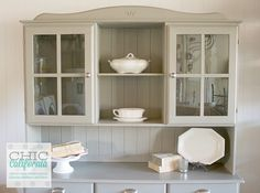 Transformation Tuesday: A Country Hutch Update - Chic California